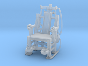 Electric Chair miniature model games rpg dnd stuff in Smooth Fine Detail Plastic