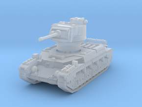Matilda II (early) 1/200 in Smooth Fine Detail Plastic