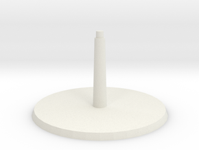 Base A Call to Arms in White Natural Versatile Plastic