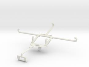 Controller mount for Xbox One S & T-Mobile REVVL V in White Natural Versatile Plastic