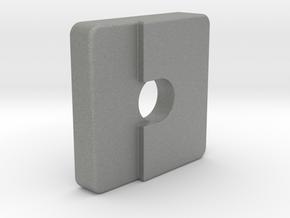 SK40 - Control Box - Panel Lock Lug in Gray PA12