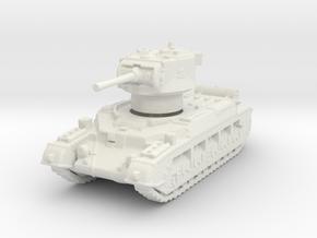 Matilda II Aus 1/144 in White Natural Versatile Plastic