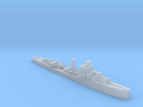 USS Somers destroyer 1943 1:2500 WW2 in Smooth Fine Detail Plastic