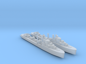 2pk sprue UK I-class destroyer 1:900 WW2 in Smooth Fine Detail Plastic