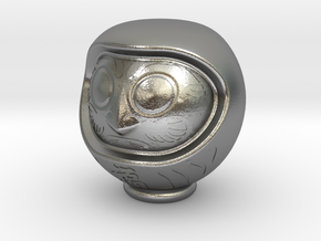 Daruma Doll 001 in Natural Silver