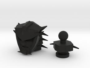 ROTF/Earthrise Lockdown G1 Drift Head Replacement in Black Natural Versatile Plastic