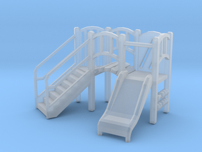 Playground Equipment 01. 1:64 Scale  in Smooth Fine Detail Plastic