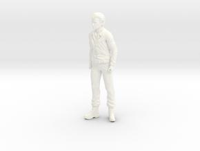 Fantastic Voyage - Dr. Duval - Standing - 1.35 in White Processed Versatile Plastic