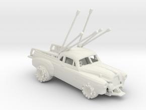 1951 Holden Coupe Utility (Intruder) 1:160 scale in White Natural Versatile Plastic