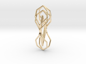 A-LINE Honeymotion, Pendant in 14K Yellow Gold