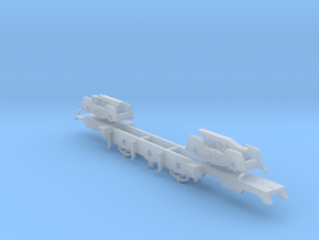 Furness 115 Class Baltic Tank 4-6-4 - 00 Chassis in Smooth Fine Detail Plastic