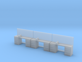1:64 Workbench 3pc in Smooth Fine Detail Plastic