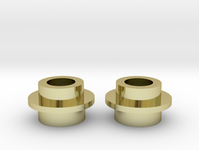 2x Metal Rings for Matrix 2.0 Add LED Assembly in 18k Gold Plated Brass