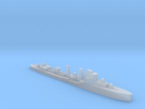 HMS Exmouth destroyer 1:2500 WW2 in Smooth Fine Detail Plastic