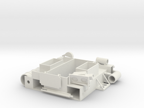 29-J mission - simple open MESA in White Natural Versatile Plastic