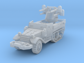 M17 AA Half-Track 1/160 in Smooth Fine Detail Plastic
