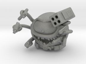 Beholder Beholster 45mm miniature model fantasy wh in Gray PA12
