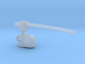GG Bushido Legion Vortex Mech Katana Arm (Left) in Smooth Fine Detail Plastic
