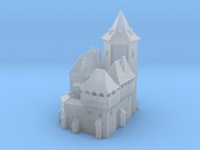 Miniature Medieval Castle in Smoothest Fine Detail Plastic
