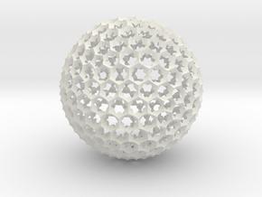 Bee Sphouse  in White Natural Versatile Plastic
