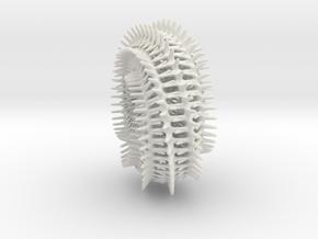 Backbone Spine in White Natural Versatile Plastic
