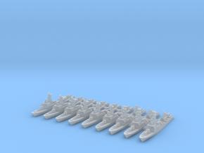 La Combattante III (FUD) in Smooth Fine Detail Plastic: 1:2400