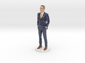 Jordan Peterson 10 Inch Miniature in Glossy Full Color Sandstone