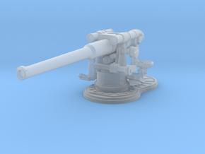 1/240 USN 4 inch 50 (10.2 cm) Gun Deck in Smoothest Fine Detail Plastic