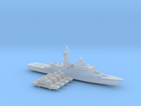 TAIWAN MISSILE BOAT set 2 WL - 1800 in Smooth Fine Detail Plastic