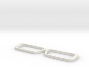 0073 cheetah sunglasses 01 frames in White Natural Versatile Plastic