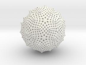 Vase 01 Remesh in White Natural Versatile Plastic