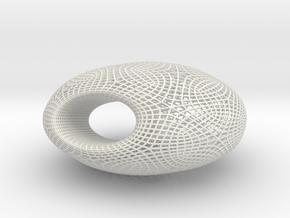 Cyclidex-11cm in White Natural Versatile Plastic
