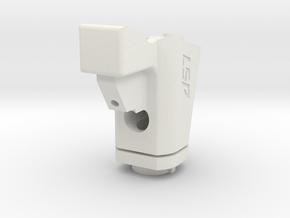 Hpa Grip tm m870 in White Natural Versatile Plastic