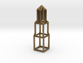 Domtoren pendant in Natural Bronze