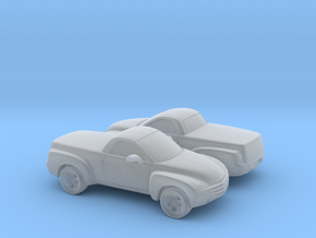 1/160 2X 2003-06 Chevrolet SSR in Smooth Fine Detail Plastic
