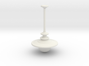 1:25 Hanging Lamp in White Natural Versatile Plastic