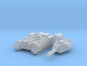 Terran Main Battle Tank in Smooth Fine Detail Plastic