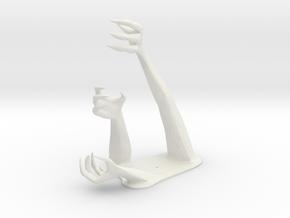 Demon Hand Pen Holder -v1 in White Natural Versatile Plastic
