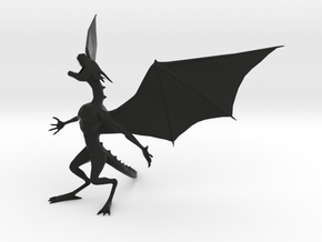 Pen Dragon -v2h in Black Natural Versatile Plastic