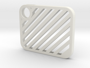 Flash Cover Slatted in White Natural Versatile Plastic