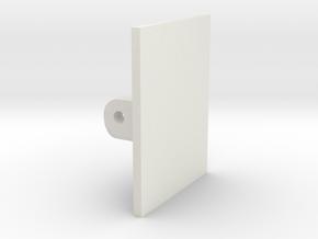 JDH-spacer_servo_speed.stl in White Natural Versatile Plastic