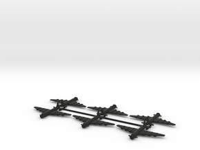 8 B-36-like x6 in Black Strong & Flexible