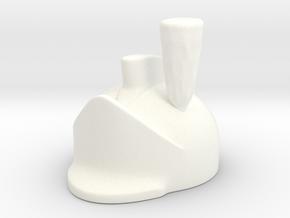 Ferguson Helmet in White Processed Versatile Plastic