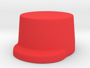 French General in Red Processed Versatile Plastic