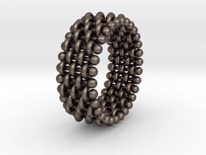 woven ring 3 in Stainless Steel