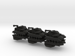 6 Missile Carrier x6 in Black Strong & Flexible