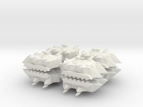 6 APC x8 in White Natural Versatile Plastic