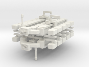 Cargo Spaceship x2 in White Strong & Flexible