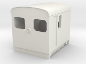 OeBB Schmalspur 052/s H0e in White Natural Versatile Plastic