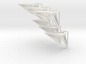 Kubusmix transparant in White Natural Versatile Plastic